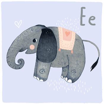 Kuva Alphabet - Elephant