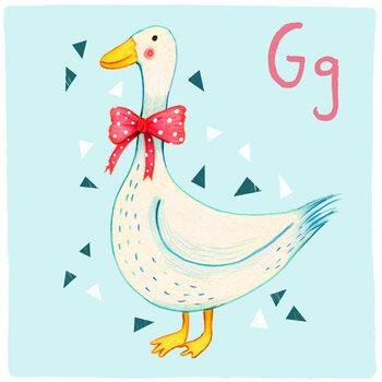Kuva Alphabet - Goose