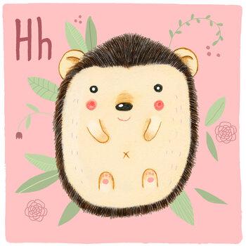 Kuva Alphabet - Hedgehog