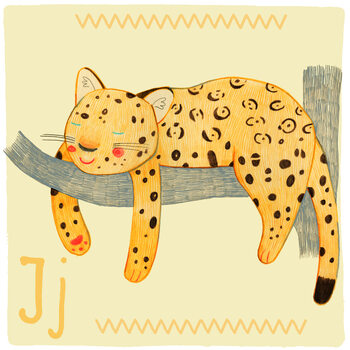 Kuva Alphabet - Jaguar