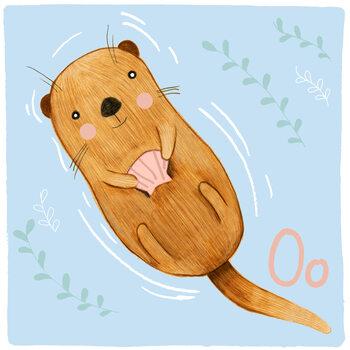 Kuva Alphabet - Otter