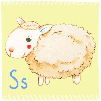 Kuva Alphabet - Sheep