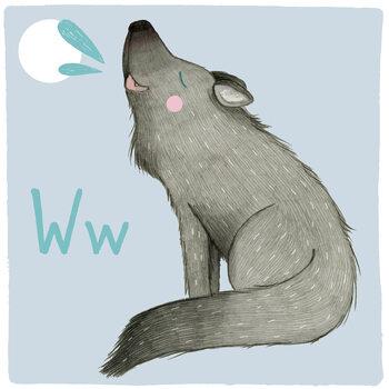 Kuva Alphabet - Wolf