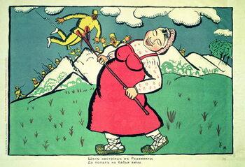 """Fine Art Print """"An Austrian was going...."""""""