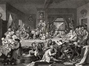 Fine Art Print An Election Entertainment, engraved by T.E. Nicholson,