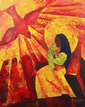 Reprodução do quadro Annunciation, 2011