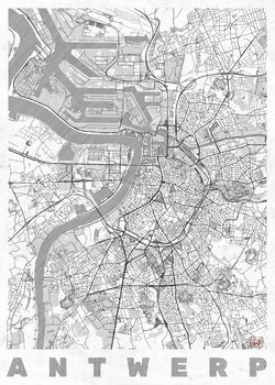 Map Antwerp