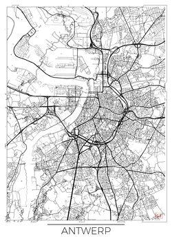 Map Antwerp