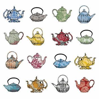 Taidejuliste Anyone for tea? 2012