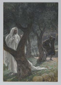 Reprodução do quadro Apparition of Our Lord to Saint Peter