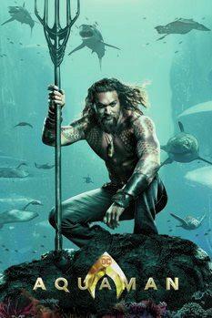 Impressão de arte Aquaman