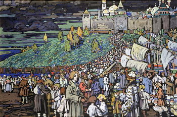 Taidejuliste Arrival of the Merchants, 1905