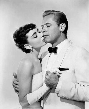 Fine Art Print Audrey Hepburn And William Holden