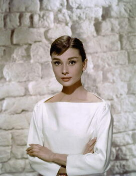 Fine Art Print Audrey Hepburn in 'Funny Face' directed by Stanley Donen, 1957