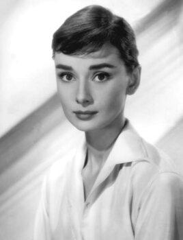 Fine Art Print Audrey Hepburn in the 50's