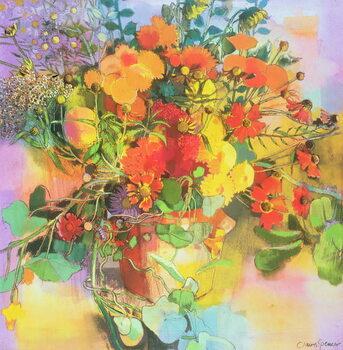 Fine Art Print Autumn Flowers