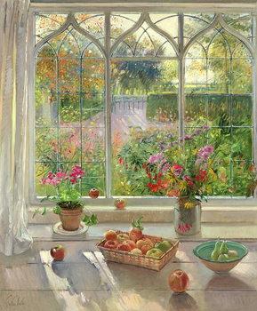 Fine Art Print Autumn Fruit and Flowers, 2001