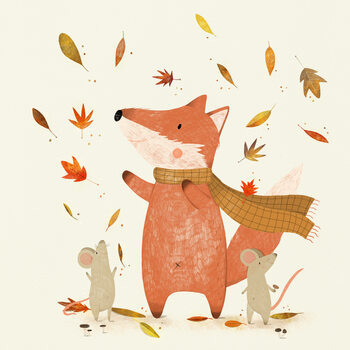 Illustration Autumn is coming
