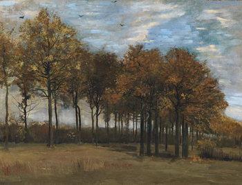 Reprodução do quadro Autumn Landscape, c.1885