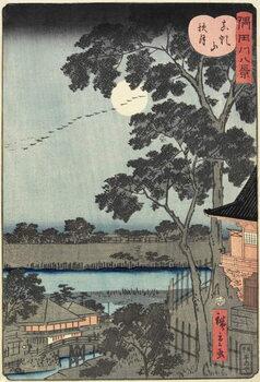Fine Art Print Autumn Moon over the Matsuchiyama Hill November 1861