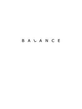 Illustration Balance