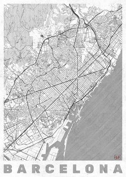 Map Barcelona