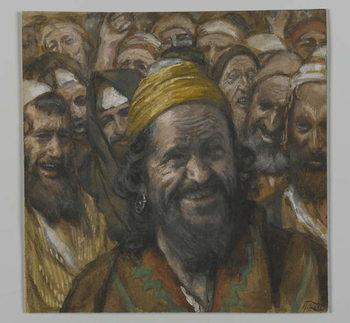 Reprodução do quadro Barrabbas