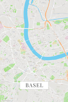 Map Basel color
