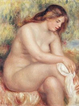 Fine Art Print Bather Drying Herself, c.1910