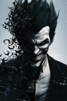 Taidejuliste Batman Arkham - Joker