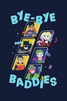 Impressão de arte Batman - Baddies