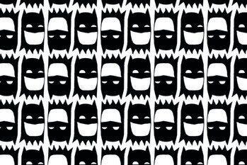 Impressão de arte Batman - Head ilustration
