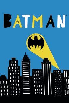 Art Poster Batman - Light signal