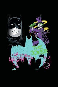 Impressão de arte Batman vs Joker - Art