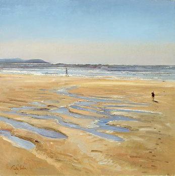 Fine Art Print Beach Strollers