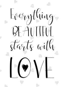 Illustration Beautiful love