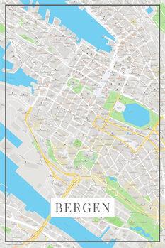 Map Bergen color