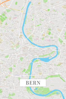 Map Bern color