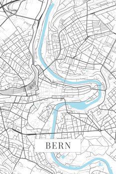 Map Bern white