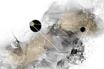 Ilustração Beyond all galaxies no 1 | alcohol ink