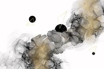 Ilustração Beyond all galaxies no 3 | alcohol ink