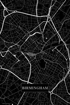Map Birmingham black