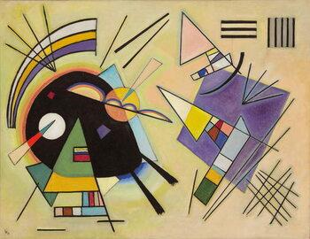 Fine Art Print Black and Violet; Schwarz und Violett, 1923