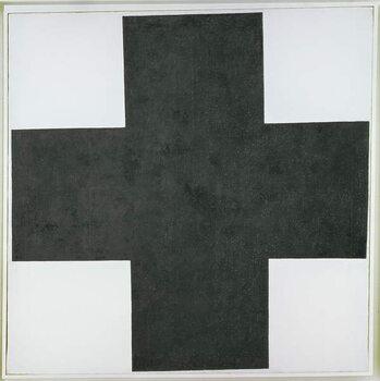 Fine Art Print Black Cross
