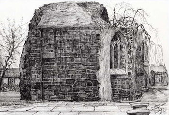 Fine Art Print Blackfriers Chapel St Andrews, 2007,