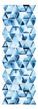 Illustration Blue Triangles