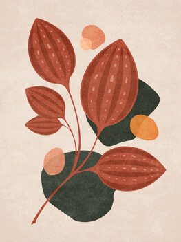 Illustration Boho Leaves 04