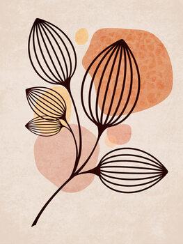 Illustration Boho Leaves 05