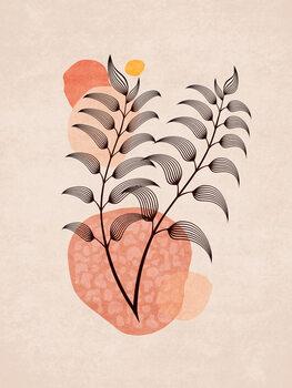 Illustration Boho Leaves 07