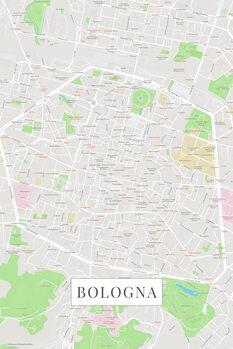 Map Bologna color